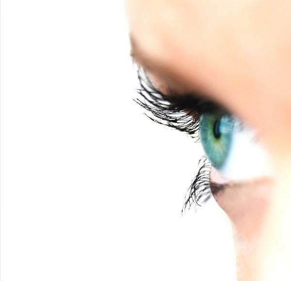 Oko z profilu